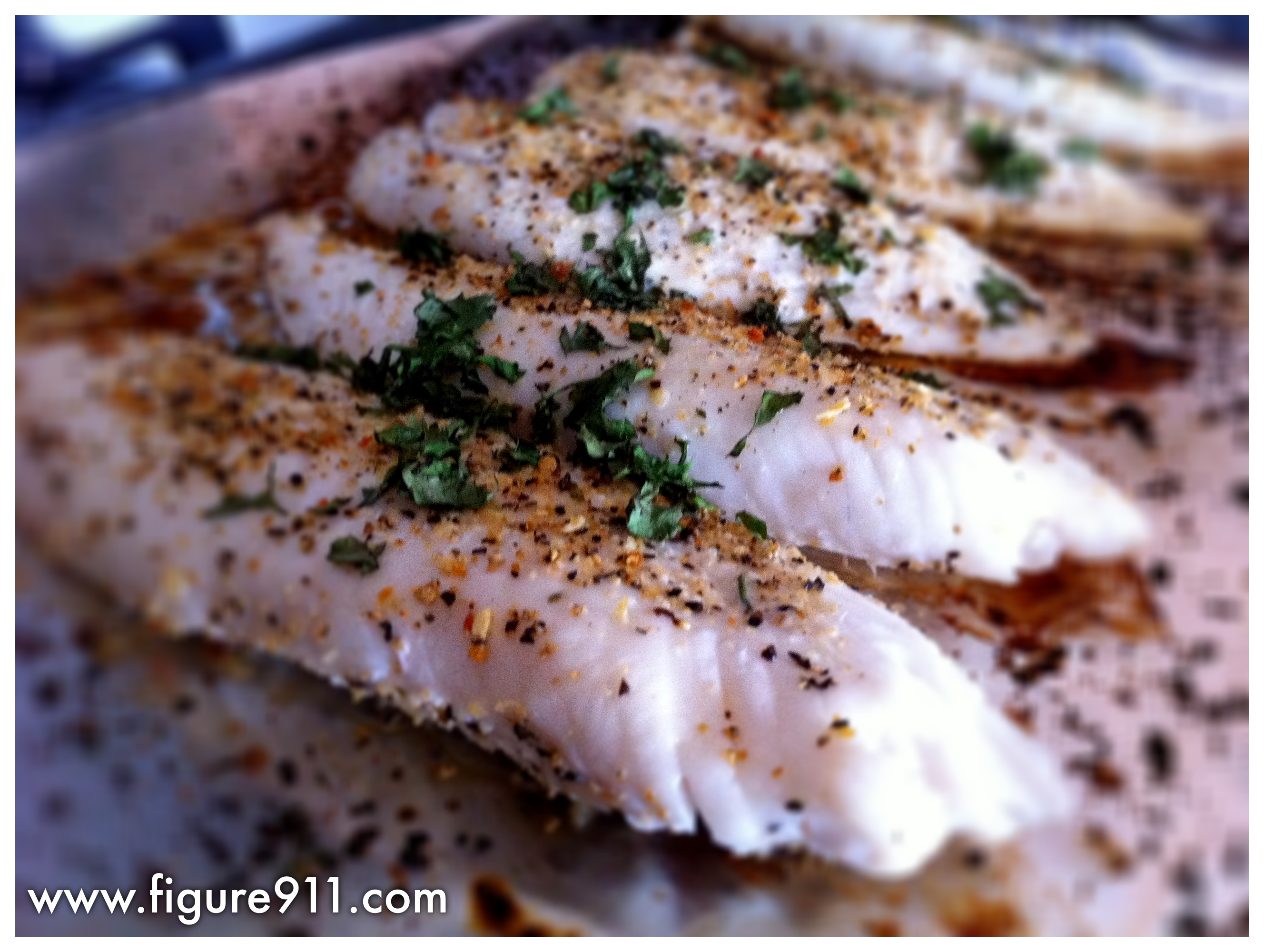 Easy baked tilapia | A working woman's guide to keeping fit