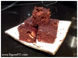 High Protein, High Fibre Brownies