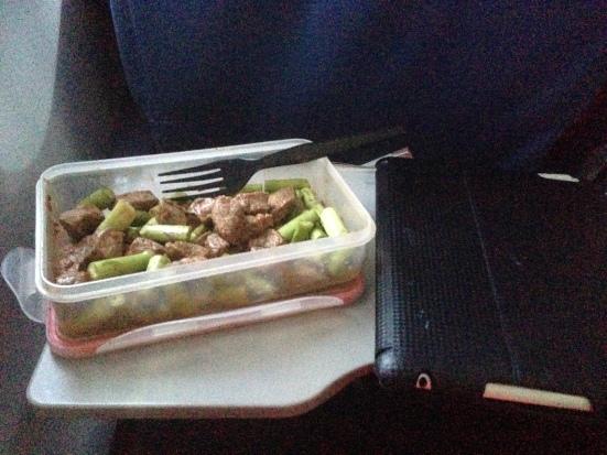 Flank steak & Asparagus