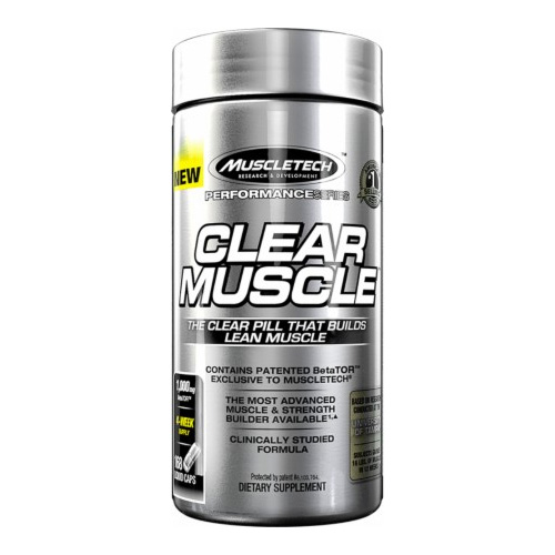 MuscleTech Essential Series Clear Muscle 168 capsule_supplementcentral