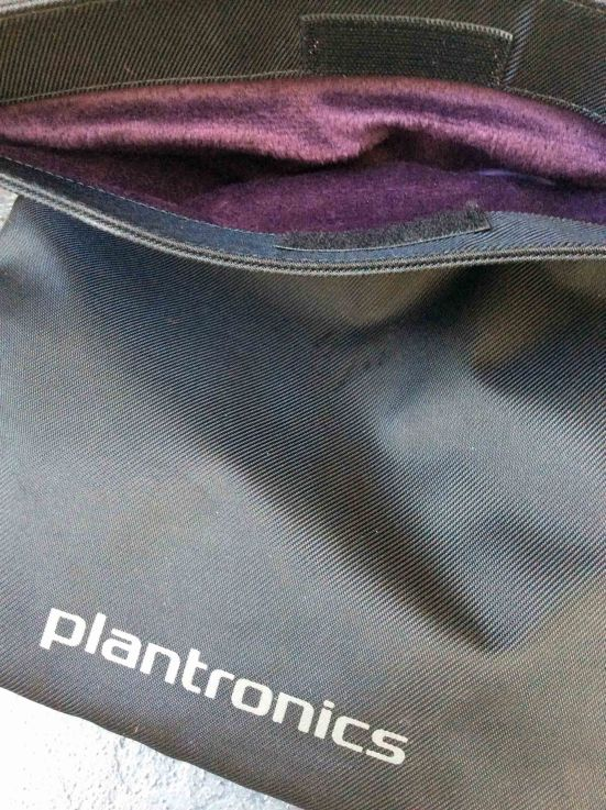 Plantronics carry bag